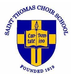 St. Thomas Choir School Logo