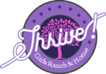 Thrive Girls Ranch & Home Logo